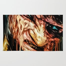 freddy graffiti print Rug