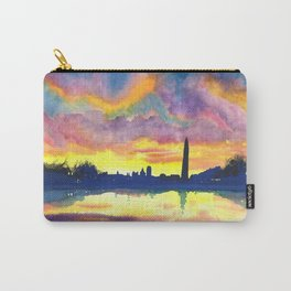 Sunset at the Monument Carry-All Pouch