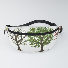 Four Seasons of Trees Fanny Pack