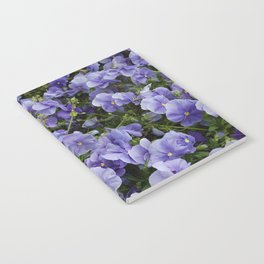 Pansy flower Notebook