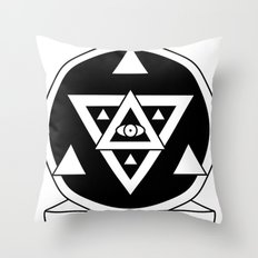 Truth and Beauty Throw Pillow