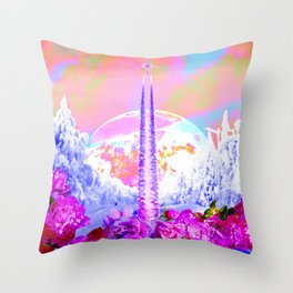 energy is currency Throw Pillow