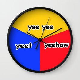 The Holy Yee-nity Wall Clock