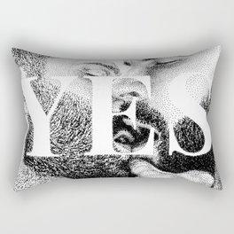 Yes - Nood Doods Rectangular Pillow