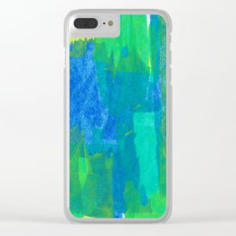 Abstract No. 504 Clear iPhone Case
