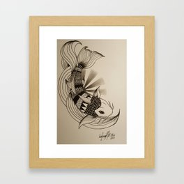 Untitled Koi #1 Framed Art Print