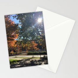 A Fall Day Somewhere in Ohio Stationery Cards