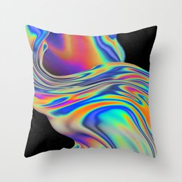 VISION OF DIVISION Throw Pillow