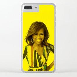 Michelle Obama - Celebrity Clear iPhone Case