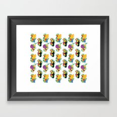 Tropical Toucan Framed Art Print