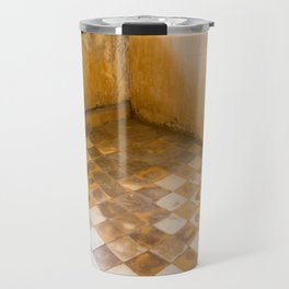 S21 Blood Stains - KhmerRouge, Cambodia Travel Mug
