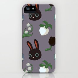 Cole the Rabbit Pattern iPhone Case