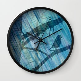 Singing lesson Wall Clock