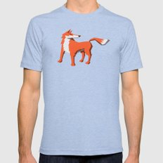Fox Mens Fitted Tee SMALL Tri-Blue