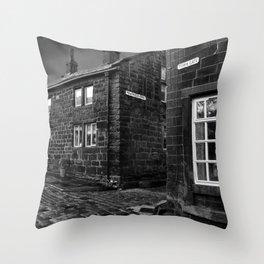 Heptonstall B&W Throw Pillow