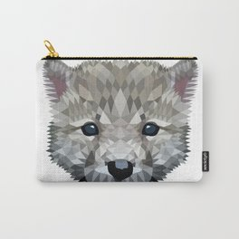 Baby wolf color blocking Carry-All Pouch