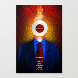 DAVID CRONENBERG SERIES :: SCANNERS Canvas Print