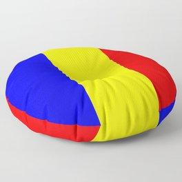 Flag of romania 2 -romania,romanian,balkan,bucharest,danube,romani,romana,bucuresti Floor Pillow