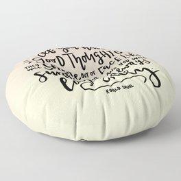 Sunbeams Floor Pillow