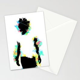 Cool guys don't look at explosions Stationery Cards