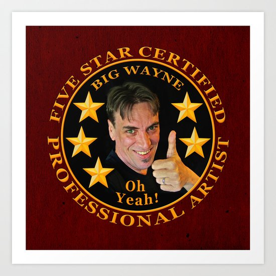 Five Star Certified Art Print