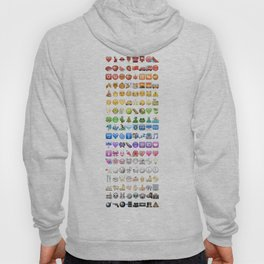 Emoji icons by colors Hoody