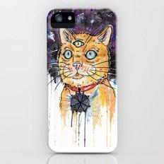 Space Cat iPhone (5, 5s) Slim Case