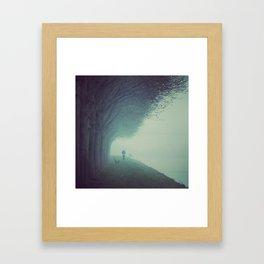 November Rain Framed Art Print
