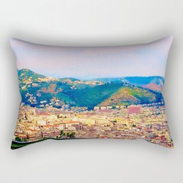 Italian Cityscape Rectangular Pillow