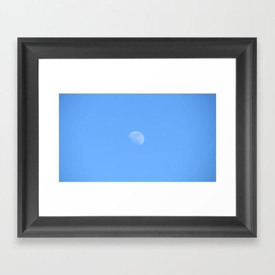 Inconstant Moon Framed Art Print