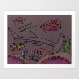 Hammerhead Bay Art Print