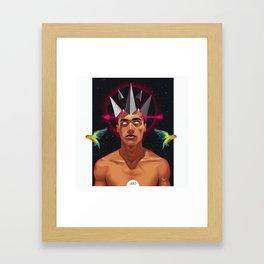 L.O.V.E. Framed Art Print