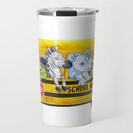 Animal SchoolBus Travel Mug