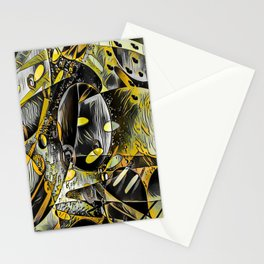 Sunshine Abstract Thoughts Stationery Cards