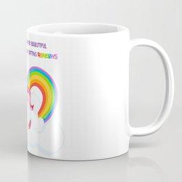 Unicorn Farts and Beautiful days Coffee Mug