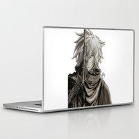 noir Laptop & iPad Skins featuring Noir by OtakuRuki