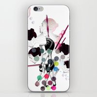 bubbles iPhone & iPod Skins featuring Bubbles by Stéphanie Brusick / Art by shop