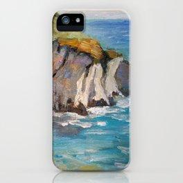 Half Moon Bay Cliffs iPhone Case
