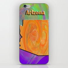 Arizona Map iPhone & iPod Skin