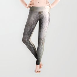 An Abstract painting symbolizing what seems to be  a VIRGIN Leggings