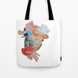 "Donald Trump Painting: ""Inside Trump's Locker"" Tote Bag"