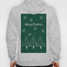 Merry Christmas Green Hoody