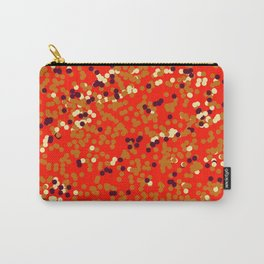 dots on red Carry-All Pouch