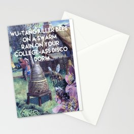 WU-TANG KILLER BEE'S  Stationery Cards