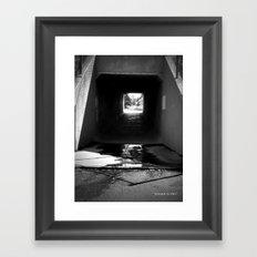 Lethbridge Underpass Framed Art Print
