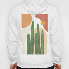 Abstract Cactus I Hoody