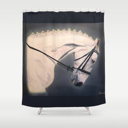 Dressage Competitor Shower Curtain