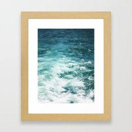 Ferrys Wake Framed Art Print