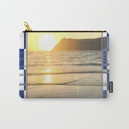 Port Erin - check graphic Carry-All Pouch