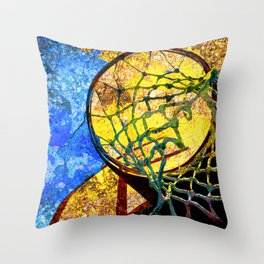 Basketball Artwork 11 Throw Pillow